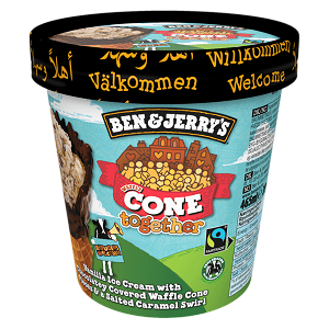 Foto Ben & Jerry's Cone Together 465 ml